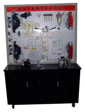 产品以国产柴油车全车电器实物为基础,展示灯光系统,仪表系统,加