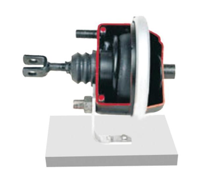 适用于气压制动隔膜式制动缸组件的结构与原理认知