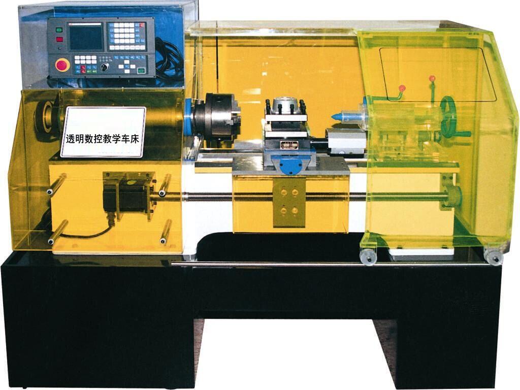 zy-ck6136 透明数控教学车床(广数系统,knd系统可选择)