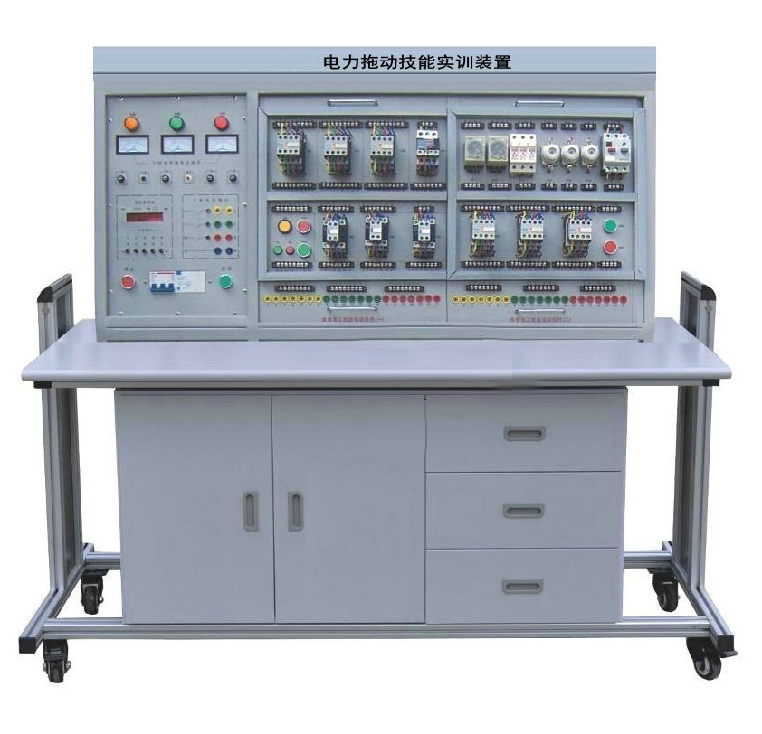 三相四线电源输入,通过漏电保护器