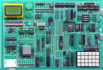 (3)步进电机控制实验;   (4)16*16 led点阵显示实验;   (5)电子时钟